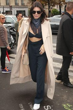b3c27e6a3ad8 Kendall Jenner Paris October 6