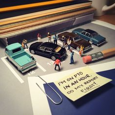 These Photos of Mini Figures Capture the Frustrations of Office Life http://petapixel.com/2015/05/31/these-photos-of-mini-figures-capture-the-frustrations-of-office-life/?utm_content=bufferfbf70&utm_medium=social&utm_source=pinterest.com&utm_campaign=buffer #creative #storytelling