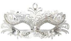Coxeer Pretty Elegant Lady Masquerade Halloween Mardi Gra