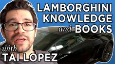 Here In My Garage (Official): Lamborghini, Knowledge, And Books With Tai...