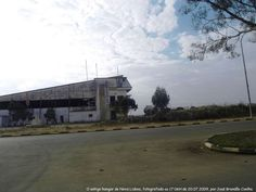 The old airport of Huambo, picture taken in 2009