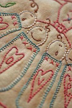 Cinderberry Stitches   Image of A Mothers Pockets