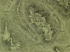 """Based on his observations at the site in the 19th century, A. P. Stanley commenting on the descent of Moses and Joshua from Mount Sinai, he states:""""Any one coming down..behind the Ras Sa[f]safeh, through the oblique gullies...would hear the sounds borne through the silence from the plain, but would not see the plain itself till he emerged from the Wady El-Deir or the Wady Leja;..he..immediately [be] under the precipitous cliff of Sa[f]safeh"""". ( http://wol.jw.org/en/wol/d/r1/lp-e/1200004135 )"""