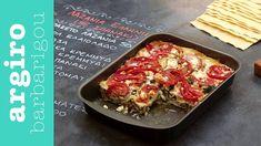 Λαζάνια με Σπανάκι και Φέτα • Keep Cooking by Argiro Barbarigou Pasta Recipes, Lasagna, Feta, Main Dishes, Ethnic Recipes, Rice, Magazine, Youtube, Gastronomia