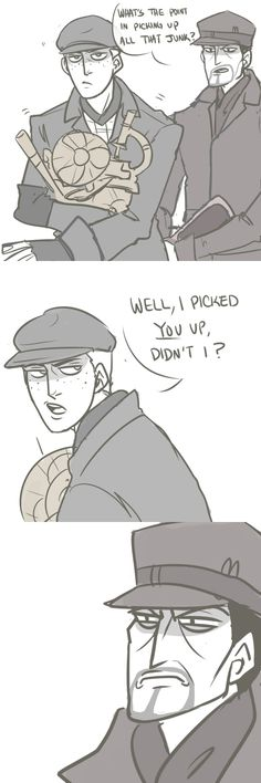 [ MacCready disliked that. ] | art by pebblerollingbird @Tumblr