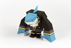 Pirates - papertoy by Tougui 1, via Behance