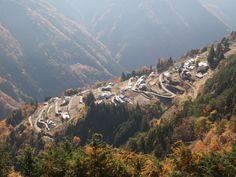 Like Machu Picchu in Peru, Shimoguri community Nagano Prefecture