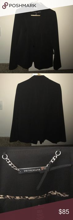 White House Black Market blazer. Like new!! Only worn once to a job interview. In great condition! White House Black Market Jackets & Coats Blazers
