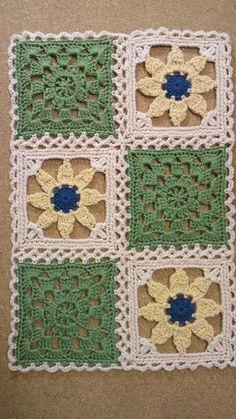 お花畑のロマンティックキルト43 トライアングル&ストライプの画像 | 野の花手芸噺
