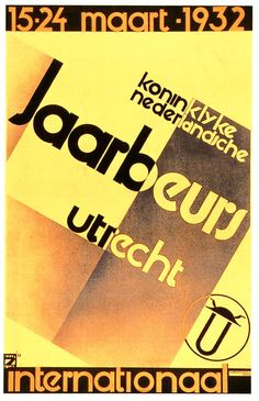 1930's Art-Deco International poster