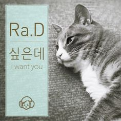 """""""I Want You"""" is a single recorded by South Korean singer Ra.D. It was released on March 07, 2016 by KT Music."""