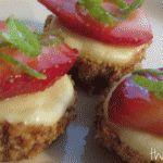 Strawberry Margarita Cheesecake Bites