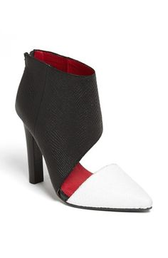 e05e47c35d3 Jeffrey Campbell  Barnes  Bootie available at  Nordstrom These too kay  thanks! Shoes. Shoes Heels ...
