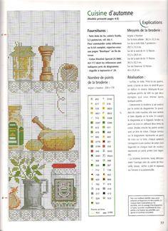 Borduurpatroon Bloemen - Planten *Cross Stitch Flowers - Plants ~Kruiden *Herbs 2/2~