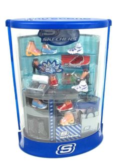 fafd368b09 2005 My Scene Mall Maniacs Skechers Shoe Store Playset - includes Shoe Box  and Shopping Bag