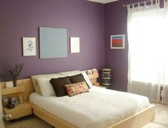 Calm & Cool Purple Bedrooms — Room for Color Roundup