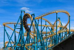 Visit Six Flags Fiesta Texas in San Antonio for thrilling coasters—like the Poltergeist, a spin-o-vative, swooping track—or gentler rides for the kids.