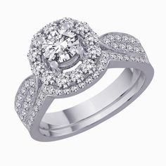 Luxurious Wedding Ring #jewelry #wedding