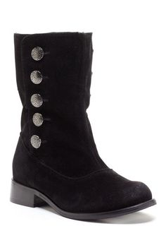 $24 (bought) Bucco Side Button Boot by Last Chance Boots on @HauteLook