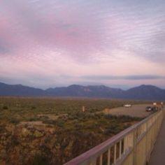 Rio Grande Gorge Bridge, Taos, New Mexico  #taos #newmexico #nationalmonument
