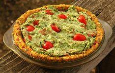 One recipe 3 ways...spinach cheese spead...spinach veggie quiche...spinach cashew zucchini pasta...Rawmazing