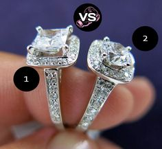 #Scott #Kay #diamond engagement rings Versus Game. Which one do you think is better? | www.goldcasters.com