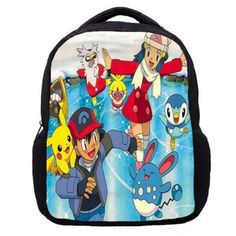 04c8f296e5 backpack lightweight Picture - More Detailed Picture about term beginning  cute printing cartoon pokemon backpack animation children student school  bags for ...