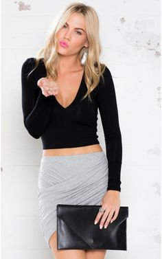 68e97f0fa4f7a Do It Again Crop Top in Black  45. Add some sex appeal into your basics