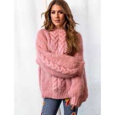 Another super soft and cozy mohair poppygenseren tonegenseren sweater Cozy Sweaters, Sweaters For Women, Chunky Sweaters, Knitting Club, Loom Knitting, Sweater Knitting Patterns, Knitting Ideas, Girly, Cable Sweater