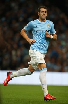 ~ Alvaro Negredo of Manchester City against Newcastle United ~