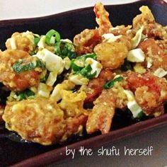 Udang Goreng Telur Asin | food's divine
