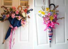 guarda chuva Maya, Floral Wreath, Wreaths, Blog, Home Decor, Kids Library, Flower Decoration, Flower Arrangements, Homemade Home Decor