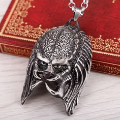 Cheap jewelry gemstone, Buy Quality gift 2 jewelry directly from China jewelry box gift Suppliers:            New Movie ALIEN vs PREDATOR metal chain key ring FACE MASK AVP 3 brass High-quality porte clefUSD