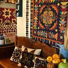 Kim's quilts and more at home
