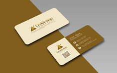 Free Logo, Rounded Corner Business Card Design Template & Mock-up PSD
