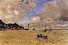 Lighthouse at the Hospice - Claude Monet