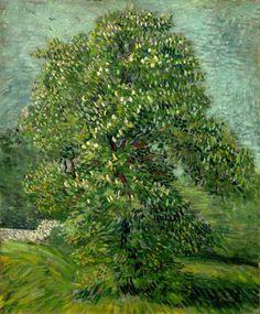 El Spleen de París • Van Gogh: Castaño en flor.