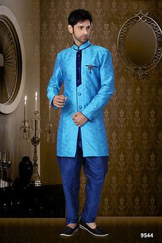 Indian Mens Cultural Wear Designer Indo Western Party Wear Ethnic Suits India