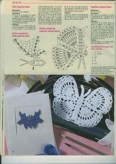 198 Beste Afbeeldingen Van Vlinders Haken Yarns Crochet Flowers