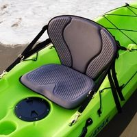 Kayak Fishing Gear GTS Pro Kayak Seat - The Drifter Kayak Seat from Surf to Summit is highly durable and the channeled seat pad sheds water. A handy pack keeps your gear and tackle in a nearby, easy-to-reach location. Kayaking Gear, Kayak Camping, Canoeing, Camping Hacks, Camping Store, Camping Trailers, Fly Fishing Tips, Kayak Fishing, Fishing Basics