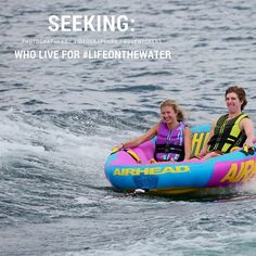 Do you wake up every morning thinking about hitting the water with friends? You might just be the perfect ambassador for Airhead!  LEARN MORE & APPLY: www.airhead.com/2018_ambassador_application  #AirheadWaterSports #LifeOnTheWater #WaterTubing #LakeLife #SummerFun #GetOutAndPlay