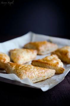 Apple, Sweet Potato and Bacon Turnovers
