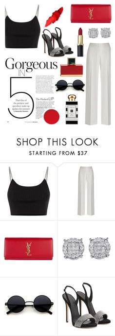 """""""Henriques creation"""" by naomi-watanabe ❤ liked on Polyvore featuring Alexander Wang, Yves Saint Laurent, Jo Malone and Fendi"""
