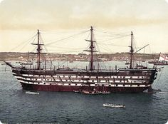 HMS Implacable.  In later years, Implacable became a training ship. In 1908 King Edward VII intervened to save her, and in 1912 she was handed over to philanthropist Geoffrey Wheatley Cobb (died 1931) for preservation and use as a boys' training ship.
