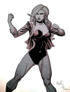 Black Canary by Reilly Brown ★