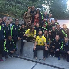 Max Martin, Shellback and Swedish Football Team