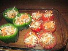 Recipe Rebels: STUFFED TOMATOES AND PEPPERS