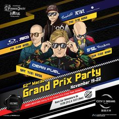 HUGE news for this week: I'm coming to play at @clubcubic in Macau/ Hong Kong this Saturday for the Grand Prix weekend! Will be my first time in China - can't wait!