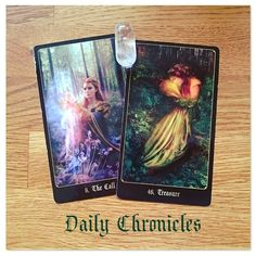 #dailychronicles for May 10th.  Ooo Treasure again! Did you buy those lottery tickets?  A proposal could lead to monetary gain today. In the story the maiden in The Call presents the Seeker with the sword and the chance to find their Destiny but it's up to them to make the decision - so this card represents an offer being made to you and a call to action.  Treasure can be an increase in funds or material possessions so this invitation is a welcome opportunity! In a more heartfelt context it…