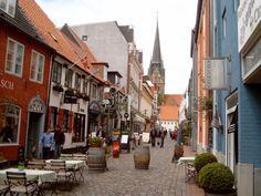 Rote Straße in #Flensburg